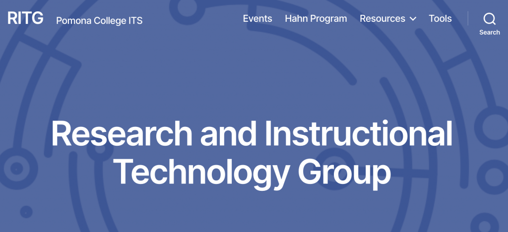 RITG homepage